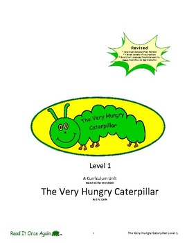 The Very Hungry Caterpillar Level 1 Digital Version