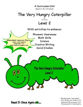 The Very Hungry Caterpillar Level 2 Digital Version
