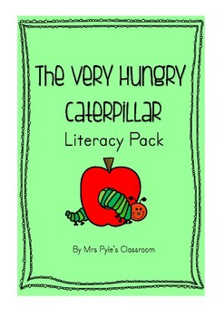 The Very Hungry Caterpillar Literacy Pack