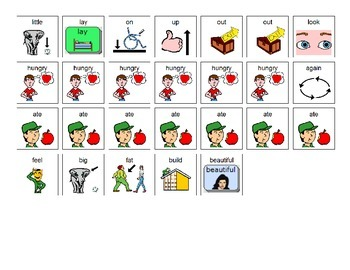 The Very Hungry Caterpillar Manual Board and Manipulatives