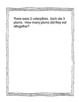 The Very Hungry Caterpillar:  Math Journal
