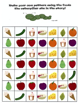 The Very Hungry Caterpillar Math Snack Pack!