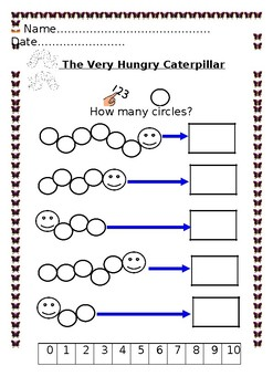 The Very Hungry Caterpillar Math Workbook