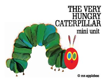 The Very Hungry Caterpillar Mini Unit