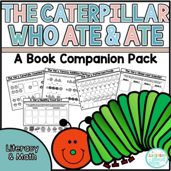 The Very Hungry Caterpillar {No Prep Activity Pack}