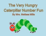 The Very Hungry Caterpillar Number Fun  for First Grade (Common Core Aligned)