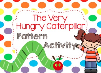 The Very Hungry Caterpillar Pattern Activity