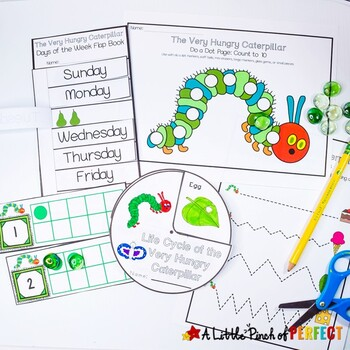 The Very Hungry Caterpillar Printable Activity Pack 100 Pages