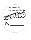 The Very Hungry Caterpillar Printable Vocabulary Book (retell)