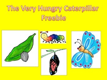 The Very Hungry Caterpillar Puppets