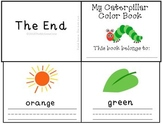 The Very Hungry Caterpillar Reader Color Writing Practice