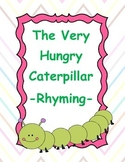 The Very Hungry Caterpillar Rhyming Activity Book Companion