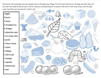 The Very Hungry Caterpillar Search and Find