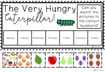 The Very Hungry Caterpillar Sequencing Activities