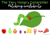 The Very Hungry Caterpillar Cut and Paste Sequencing Activities