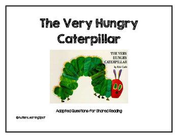 The Very Hungry Caterpillar Shared Reading