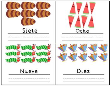 The Very Hungry Caterpillar Spanish Counting Mini-Book Reader