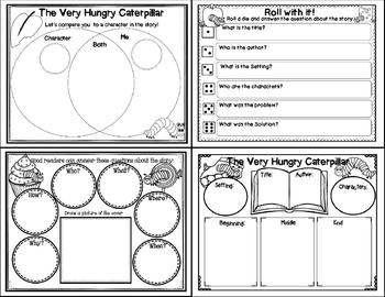 The Very Hungry Caterpillar (Story Companion with story and nonfiction QR codes)