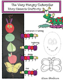 The Very Hungry Caterpillar Story Elements Craft