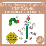 The Very Hungry Caterpillar| Story Retell & Sequencing Activities