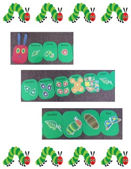 The Very Hungry Caterpillar Storytelling Game