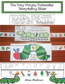 The Very Hungry Caterpillar Storytelling Slider Craft