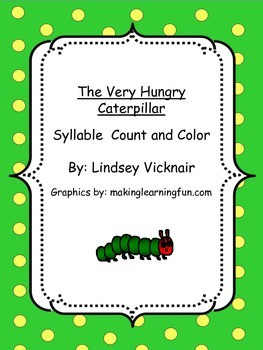The Very Hungry Caterpillar Syllable Count