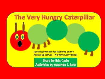 The Very Hungry Caterpillar Unit -Activities for Students on the Autism Spectrum