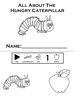 The Very Hungry Caterpillar Wookbook: Adapted, Retell (Autism, Speech)