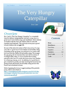The Very Hungry Caterpillar- Yoga Lesson Plan