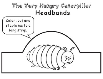 The Very Hungry Caterpillar by Eric Carle: 21 Headbands
