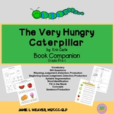 The Very Hungry Caterpillar by Eric Carle Language Literac