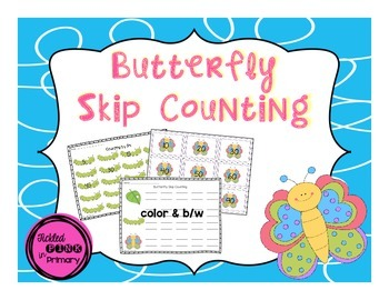 Butterfly Skip Counting