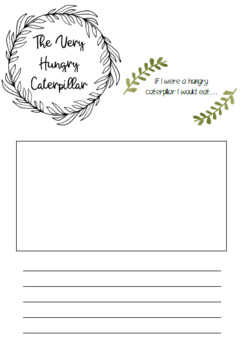 The Very Hungry Caterpillar resource bundle