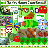 The Very Hungry Caterpillar story telling pack and activities