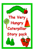 The Very Hungry Caterpillar story telling pack and life cy