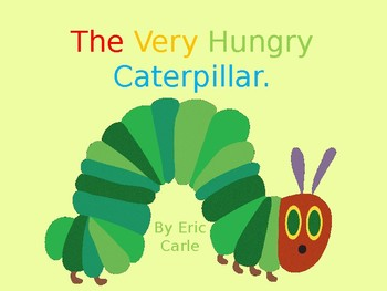 The Very Hungry Catterpillar Story