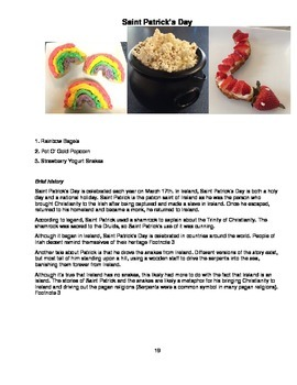 The Very Hungry Classroom - a year of low or no sugar holiday party food