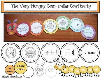 "The Very Hungry ""Coin-apillar"" Craftivities"