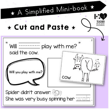 The Very Busy Spider Mini Book