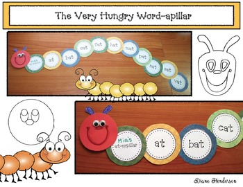 The Very Hungry Word-apillar Craft