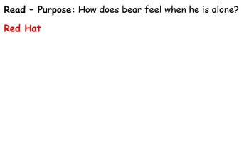 The Very Itchy Bear Guided Reading 4 Days - Four Blocks Literacy