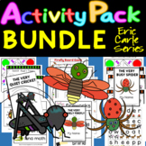 The Very Lonely Firefly, Quiet Cricket, Busy Spider - Activity Pack BUNDLE