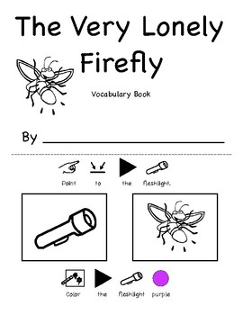 The Very Lonely Firefly Vocabulary and Color Printable ...