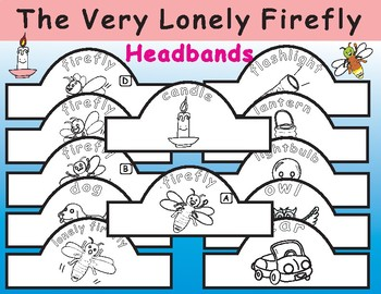 The Very Lonely Firefly by Eric Carle: Headbands