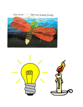 The Very Lonely Firefly- sequencing clip art