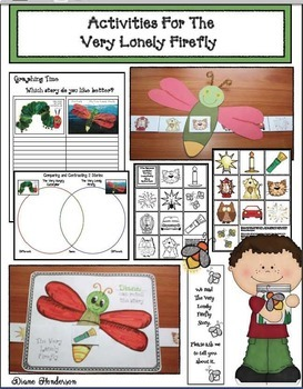 The Very Loney Firefly Activities: + Comparisons To The Very Hungry Caterpillar