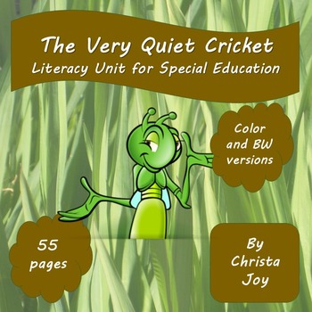 The Very Quiet Cricket Unit for Special Education