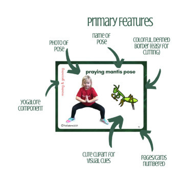 The Very Quiet Cricket:  Yoga & Movement Cards