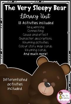 The Very Sleepy Bear Literacy Unit